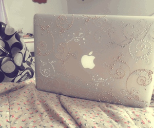 apple, cool, and laptop image