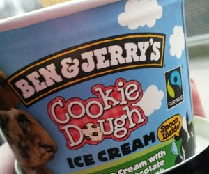 cookie dough, ice cream, and friends image