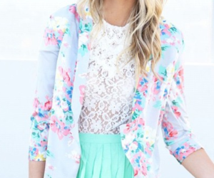 blonde, blue, and clothes image