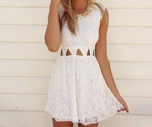 clothes, dress, and white image