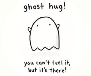 hug, ghost, and cute image