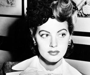ava gardner, black and white, and vintage image