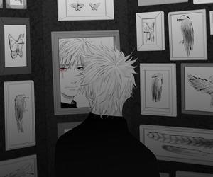 kakashi, anime boy, and naruto image
