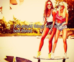 girl, summer, and bestfriends image