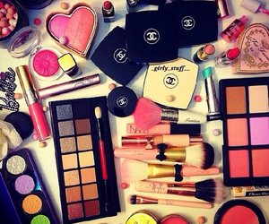 make up, lipstick, and love image