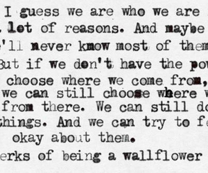 being, of, and wallflower image