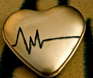 cool, heartbeat, and gold image