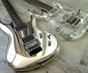 guitar, electric, and music image