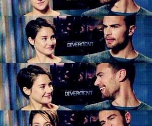 movie, divergent, and theo james image