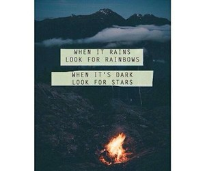 stars, love, and rainbow image