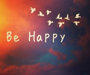 smile and be happy image