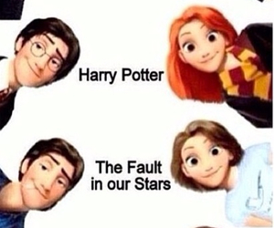 harrypotter, divergent, and thehungergames image