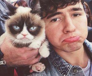 jc caylen, grumpy cat, and o2l image