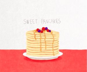 pancakes, sweet, and wallpaper image