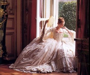 dress, royal, and vintage image