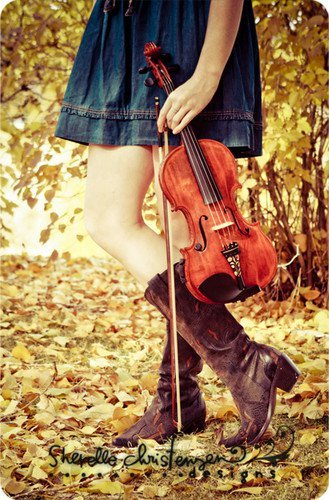 autumn, music, and girl image