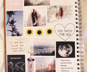 notebook, tumblr, and book image