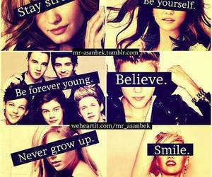 Avril, be yourself, and Forever Young image