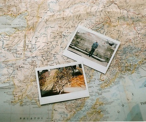 map, photo, and photography image