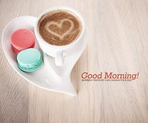 breakfast, cute, and coffee image