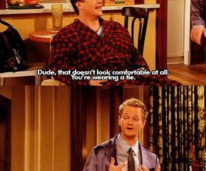 barney, how i met your mother, and marshall image