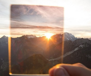 mountains, sun, and nature image