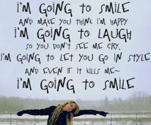 smile, quote, and laugh image