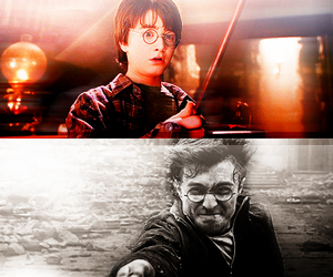 boy, harry potter, and hp image