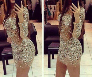 dress, kleid, and sexy image