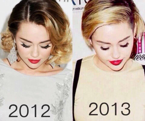 miley cyrus, 2012, and hair image