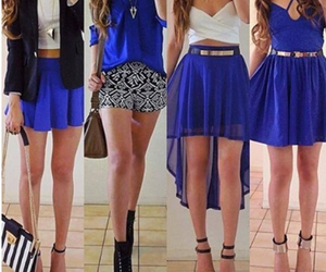 blue, fashion, and dress image