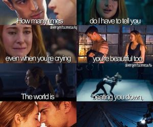 divergent, four, and all of me image