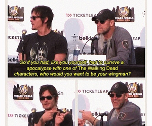 norman reedus and michael rooker image