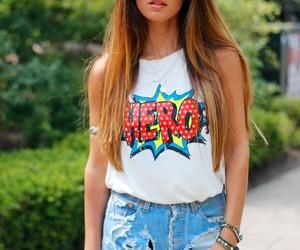 fashion, girl, and hero image