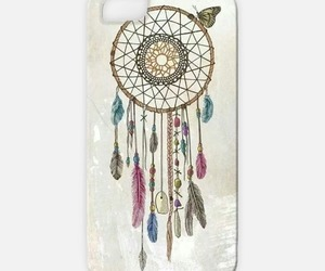 boho, dream catcher, and feathers image