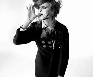 clown, funny, and cara delevingne image
