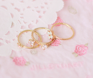 pink, rings, and accessories image