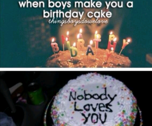 lol, funny, and cake image
