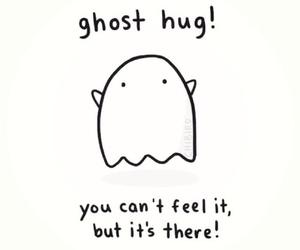hug and ghost image