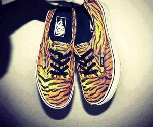 animal print, vans, and colors image