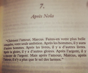 amour, beautiful, and book image