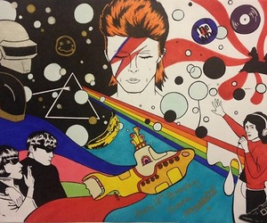 david bowie and Pink Floyd image