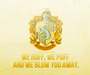 hufflepuff and house pride image