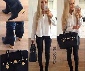 girl, bag, and fashion image