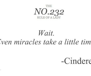miracle, cinderella, and quotes image