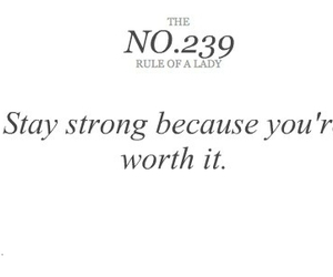 lady, strong, and quote image