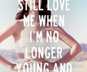 lana del rey, quotes, and young image