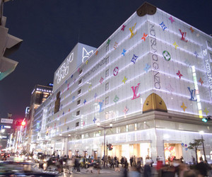 Louis Vuitton, amazing, and lights image