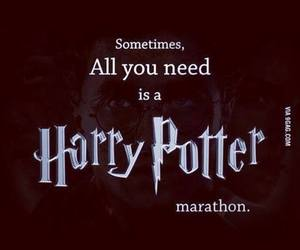 harry potter, Marathon, and movie image