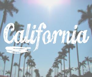 california, summer, and sun image